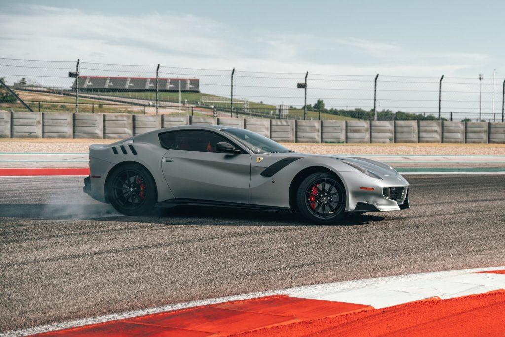 Ferrari Portofino 2-door coupe silver
